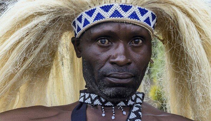 Ceremonial headdress Rwanda