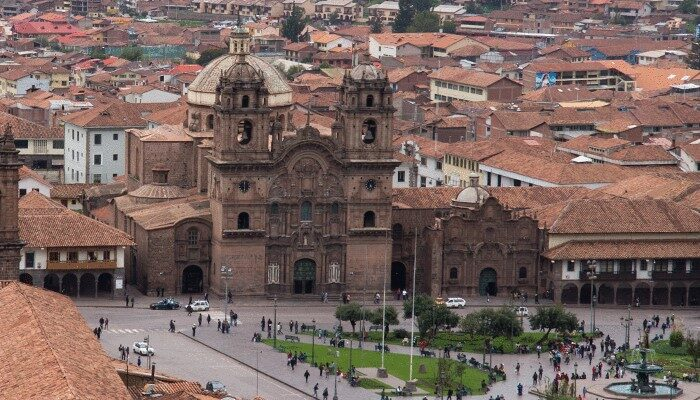 Church in Lima Peru