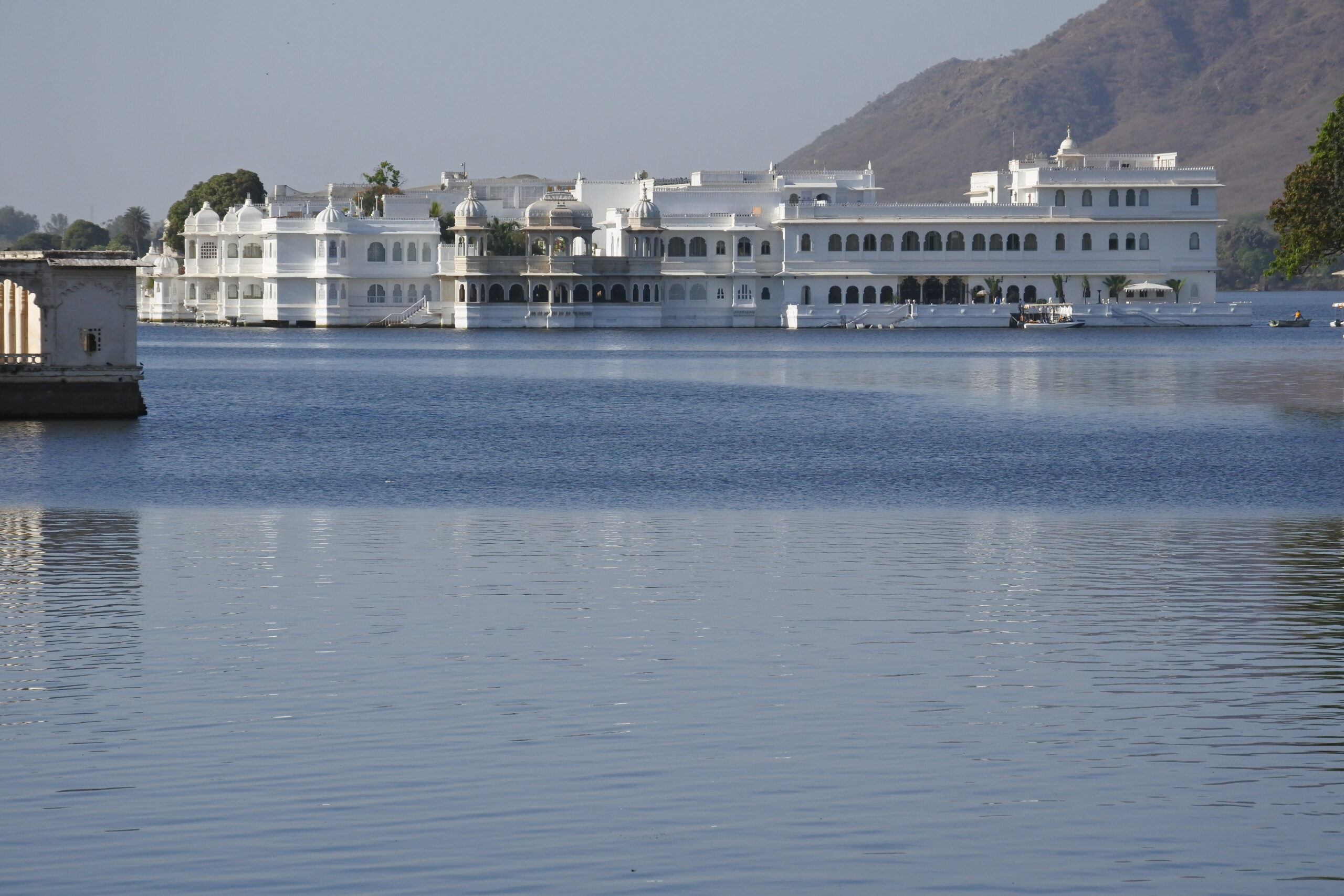 Hotel in water India